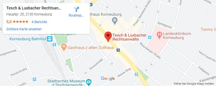 Rechtsanwaeltinnen Tesch & Luxbacher in Korneuburg-Standort Kanzlei-Tablet
